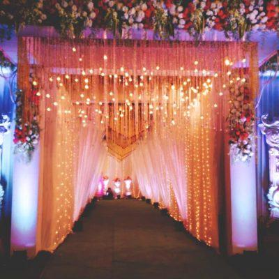 Entry Gate Design for Wedding Event